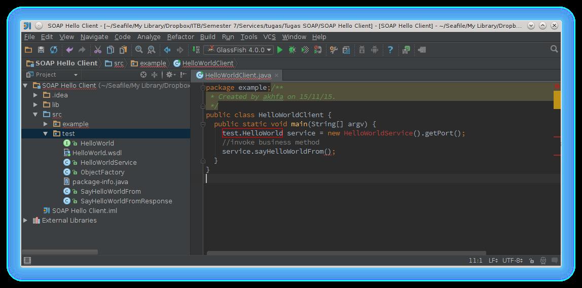 Source code client